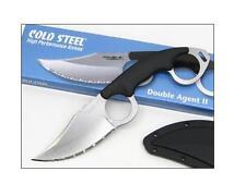 Messer Fahrtenmesser Cold Steel Double Agent II AUS-8A Secure-Ex® sheath CS39FNS