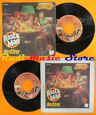 LP 45 7'' SARAGOSSA BAND Rasta man Destiny 1979 italy DEVIL DLM 78-004*cd mc dvd