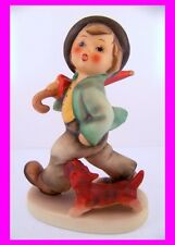 Hummel Goebel Figurine Strolling Along Hum 5 Tmk 5 Mint