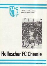 OL 80/81  1. FC Magdeburg - HFC Chemie