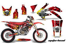 Honda CRF 450X Graphic Kit AMR Racing # Plates Decal Sticker Part 05-13 MHR
