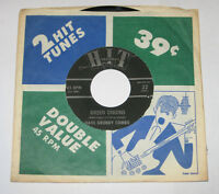 """Dave Grundy Combo 7"""" 45 HEAR NORTHERN SOUL Green Onions HIT #32 with Sleeve"""