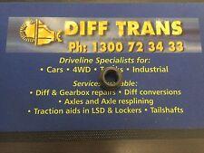 BORG WARNER / DANA M75/M76/M78/M80 PINION NUT 22MM THREAD