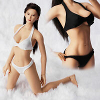 "1//6 female body M//L bust breast big huge for 12/"" hot toy figure phicen verycool"