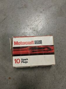 Ford Motorcraft Spark Plugs Part # A52 Box of 10