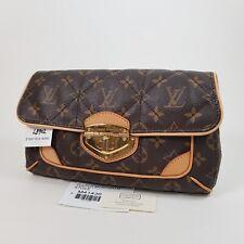 Authentic Louis Vuitton Clutch Monogram Etoile M41436 Hand Bag Guaranteed LB902