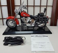 Telemania Harley Davidson Phone Red Motorcycle Telephone Motor Company GTE