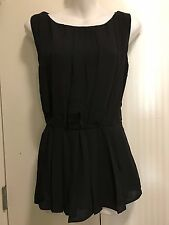 Banana Republic Black top Size 8
