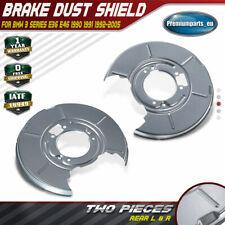BMW E46 316 318 98--05 TWO REAR 280 MM SOLID BRAKE DISCS A SET OF BRAKE PADS L/&R