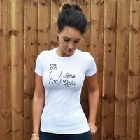 Tequila Womens T-Shirt. Funny, Humour, Te amo, alcohol lover, drink, booze, SHOT