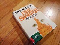 Stephen King FIRE-STARTER 1980 Book Club Edition First Printing HCDJ BCE Viking
