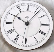 English Chrono Dr Stop Pocket Watch Mvt *Working* MANCHESTER. W&M Dodge !!!
