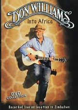 Don Williams - Into Africa (DVD, 2004) NEW!