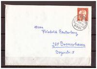 BRD, MiNr. 639 TSt Leutershausen (Hirschberg) an der Bergstrasse 16.09.1972