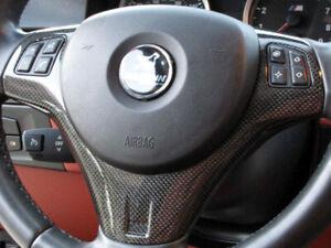Cstar CARBON ABS Lenkradblende Lenkradabdeckung passend für BMW E90 E92 E93 M3