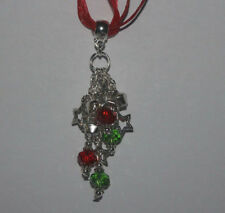 Holiday Crystal Handmade Costume Necklaces & Pendants