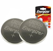 2 x Energizer CR2450 3V Lithium Coin Cell Battery 2450. 046