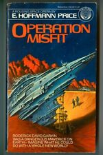 OPERATION MISFIT by E. Hoffmann Price! Vintage 1980 Ballantine FIRST Edition PB!