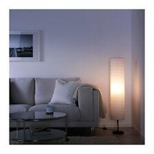 NEW IKEA FLOOR LAMP Rice Paper Shade Soft Mood Light HOLMO Living Room