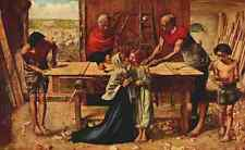 A4 Photo Millais John E 1829 1896 British Painting 1933 Christ in the Carpenters