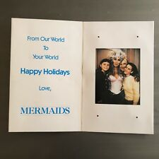 CHER 'MERMAIDS' Promo Musical Holiday Card - RARE