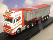 "OXFORD 1/76 VOLVO FH4 ""ELLIE MAE"" & TIPPER WAINS TRANSPORT KENTISBEARE 76VOL4004"