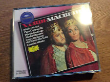 Verdi - Macbeth   [2 CD Box]  DG ABBADO Domingo Ghiaurov