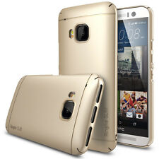 Rearth Case HTC One M9 Ringke [+Displayschutzfolie] Slim Cover Tasche Hülle gold