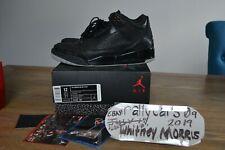 Jordan III 3 Black Flip size US 12 pre-owned