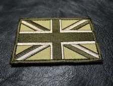 UNION JACK UK ENGLAND FLAG TACTICAL MORALE ARMY HOOK PATCH