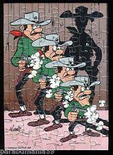 Ancien Puzzle Dargaud - Lucky luke face aux Daltons - Année 1984 - Complet