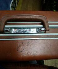 "Vintage 25"" brown Samsonite Oyster Hard  Shell Suitcase  Luggage"