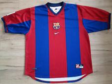 FC BARCELONA! 1998-99! shirt trikot maglia camiseta kit! 5,5/6 ! XL - adult$
