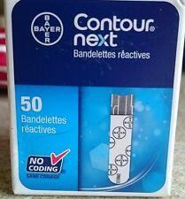 Bayer CONTOUR NEXT Blood Glucose Test Strips - Box of 50 Strips