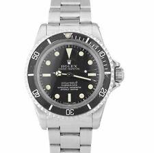 Vintage 1967 Rolex Submariner 5512 metros aseado fuente 1.6xx Reloj de pátina de primera