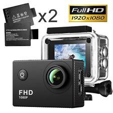 Waterproof Camera 1080P Full HD Sport Action Camera 2.0 Inch LCD Display