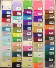 "Silk Habutai Linning Fabric 100"" Polyester 58"" Wide Superior quality £12 fr 5mtr"