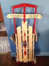 "Flexible Flyer 48"" Inch Steel Runner Sled"