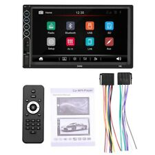 7 Inch Contact Screen Car Radio HD Stereo Bluetooth 12V 2 Din FM ISO Power Y2A2