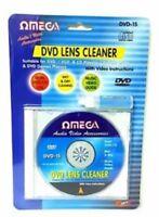 Omega DVD CD VCD Player Lens Laser Cleaning fluid Head Dirt Cleaner Restore Kit