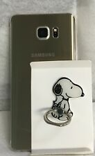 Cartoon Snoopy Dog Cell Phone Ring Holder 360 Rotating Bracket Stand