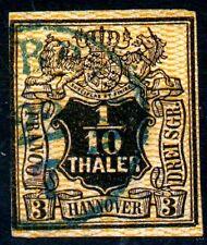 Hannover Mi.-Nr.7bo (MICHEL EURO 350,00) feinst