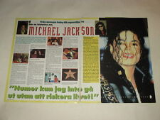 Michael Jackson Kiss Gene Madonna Sharon Stone Michael Learns clippings Sweden