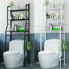 Bathroom Space Saver Over the Toilet 3 Tier Storage Shelf Metal Organizer Rack