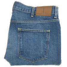 Tommy Hilfiger Men's Jeans Size 38x32 Slim Fit Blue Denim Distressed