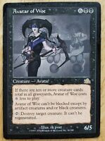 1x MTG Magic The Gathering Avatar Of Woe [Prophecy] Collectible Trading Card