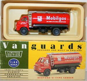 VANGUARDS 1/64 VA7005 BEDFORD S TYPE TANKER MOBILGAS