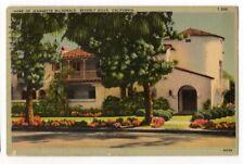041620 VINTAGE MOVIE STAR HOME POSTCARD JEANNETTE McDONALD BEVERLY HILLS CA 1940