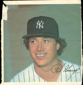 Org 1978 New York Yankees Large Baseball Player Lithograph- Rich Goose Gossage
