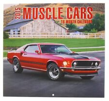 "2015 Muscle Cars Calendar & 2014 Orange County Choppers Calendar, 2 Pk, 12""x12"""